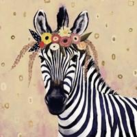 Klimt Zebra II Fine-Art Print