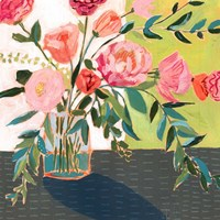 Quirky Bouquet I Fine-Art Print