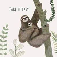 Sloth Sayings IV Fine-Art Print