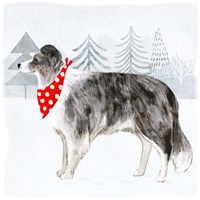 Christmas Cats & Dogs IV Fine-Art Print
