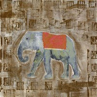 Global Elephant I Fine-Art Print