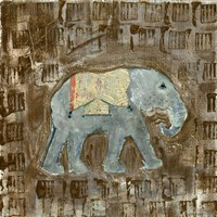 Global Elephant III Fine-Art Print
