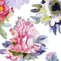 Watercolor Flower Composition VII Fine-Art Print