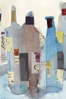 The Wine Bottles I Fine-Art Print