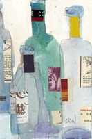 The Wine Bottles II Fine-Art Print