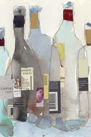 The Wine Bottles III Fine-Art Print