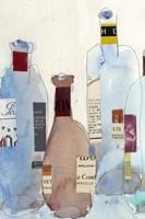 The Wine Bottles IV Fine-Art Print