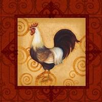 Decorative Rooster II Fine-Art Print