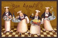 Chefs Bon Appetit V Fine-Art Print