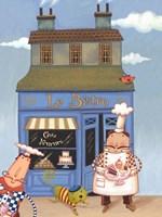 Cafe Chef I Fine-Art Print