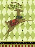 Harlequin Christmas I Fine-Art Print