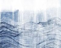 Indigo Waves II Fine-Art Print