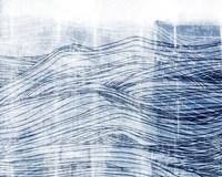 Indigo Waves I Fine-Art Print