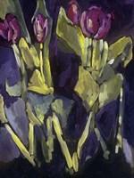 Violet Spring Flowers I Fine-Art Print