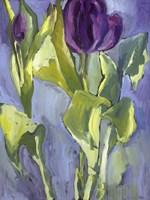 Violet Spring Flowers II Fine-Art Print