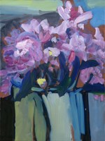Violet Spring Flowers III Fine-Art Print
