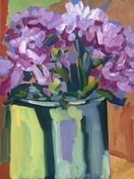 Violet Spring Flowers IV Fine-Art Print