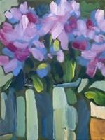 Violet Spring Flowers V Fine-Art Print