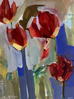 Painterly Tulips I Fine-Art Print