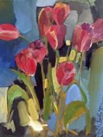 Painterly Tulips II Fine-Art Print