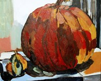 Pumpkin Still Life I Fine-Art Print