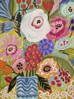 Fresh Flowers in Vase II Fine-Art Print