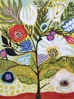 Flower Tree I Fine-Art Print