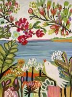 Birds in the Garden II Fine-Art Print
