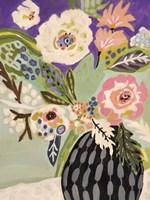 Fresh Flowers in Vase I Fine-Art Print