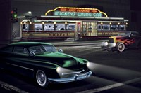 Diners and Cars II Fine-Art Print