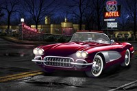 Diners and Cars V Fine-Art Print