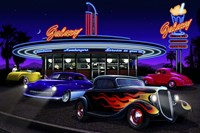 Diners and Cars VII Fine-Art Print