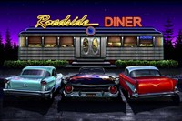 Diners and Cars VIII Fine-Art Print