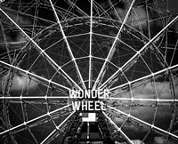 Wonder wheel  New York Black/White Fine-Art Print
