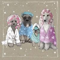 Fancypants Wacky Dogs I Fine-Art Print
