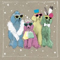 Fancypants Wacky Dogs II Fine-Art Print