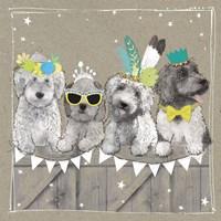 Fancypants Wacky Dogs III Fine-Art Print