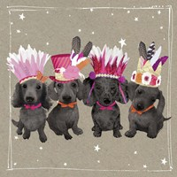 Fancypants Wacky Dogs VII Fine-Art Print