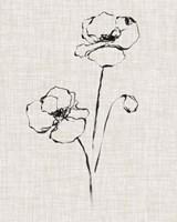 Floral Ink Study III Fine-Art Print