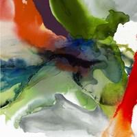 Vibrant Terrain II Framed Print