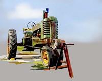 Vintage Tractor V Fine-Art Print
