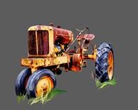 Vintage Tractor IX Fine-Art Print