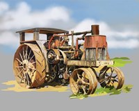 Vintage Tractor XII Fine-Art Print