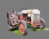 Vintage Tractor XIV Fine-Art Print