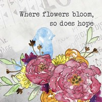 Bloom & Fly I Fine-Art Print