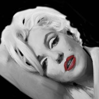 Marilyn's Lips Fine-Art Print