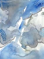 Subtle Blues I Fine-Art Print
