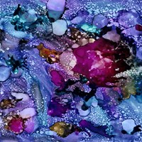 Purple Outburst I Fine-Art Print