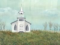 Country Church I Fine-Art Print