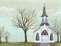 Country Church II Fine-Art Print